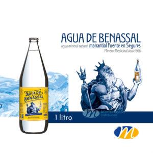 Agua Benassal Gourmet 1 litro