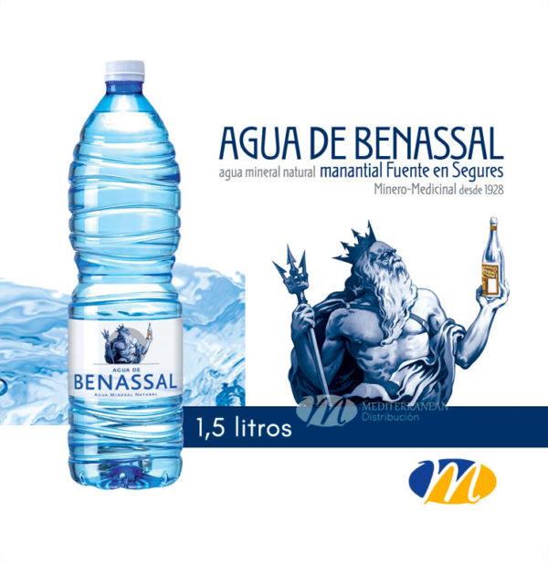 Agua Benassal Pet 1,5 litros