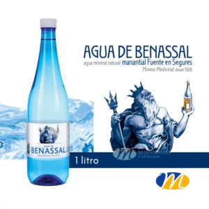 Agua Benassal Pet 1 litro