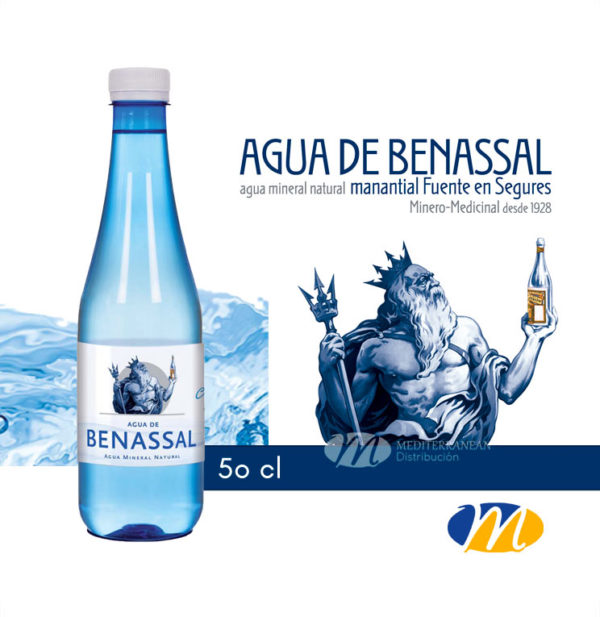 Agua Benassal Pet 50cl