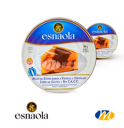 Esnaola Dulce Batata con Chocolate