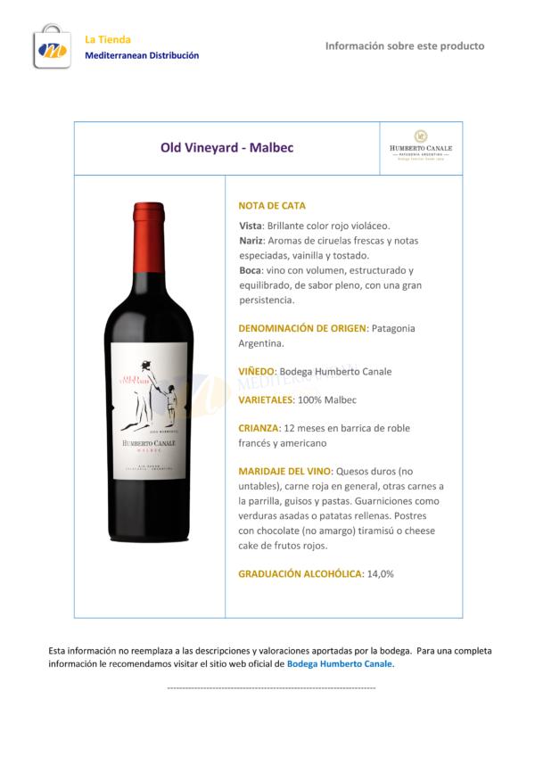 Old Vineyard Malbec