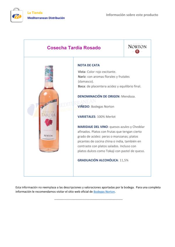 Cosecha Tardía Rosado 1