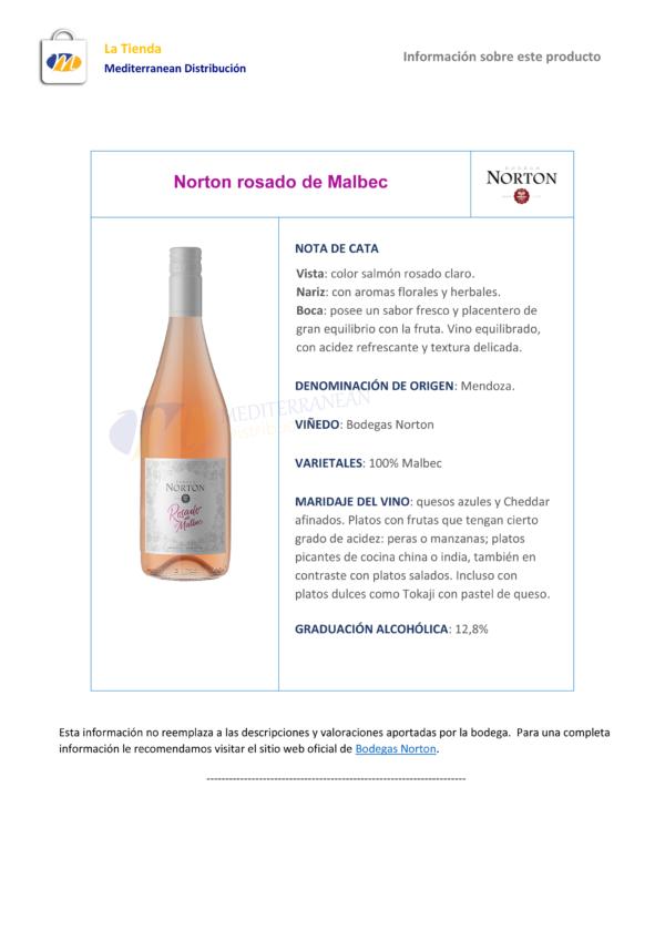Norton Rosado de Malbec